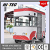 Mini Edition Environmental Electric Drive Mobile Food Truck For Multifunctions