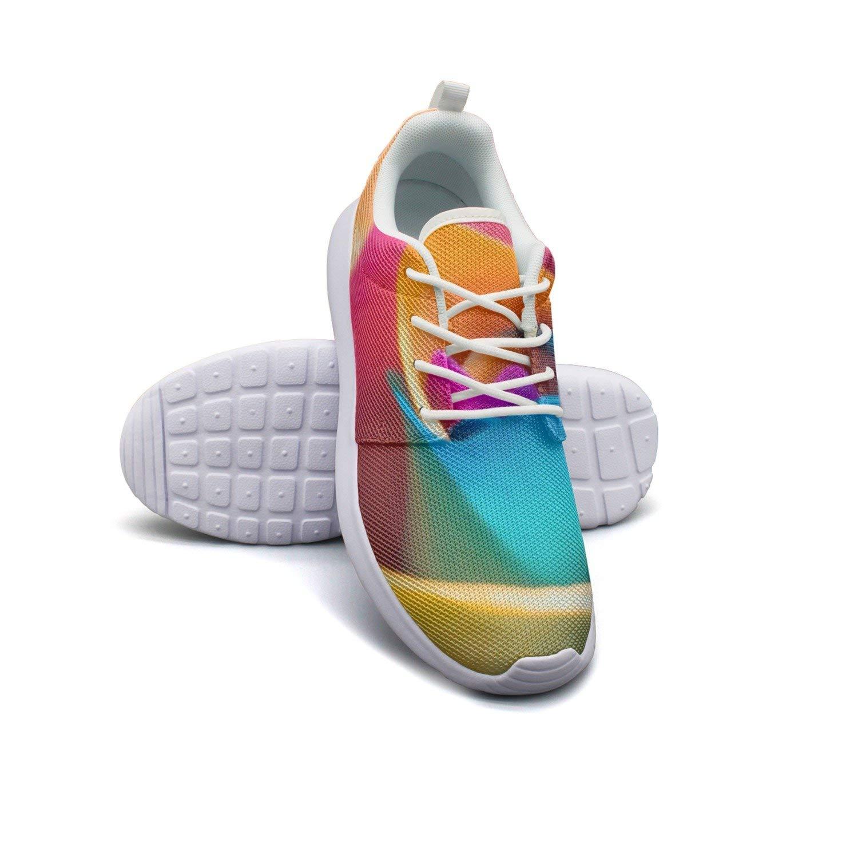 HJXJESSIE Woman Cool Flowers Wallpaper Running Shoes Jogging Runner Sports Sneakers