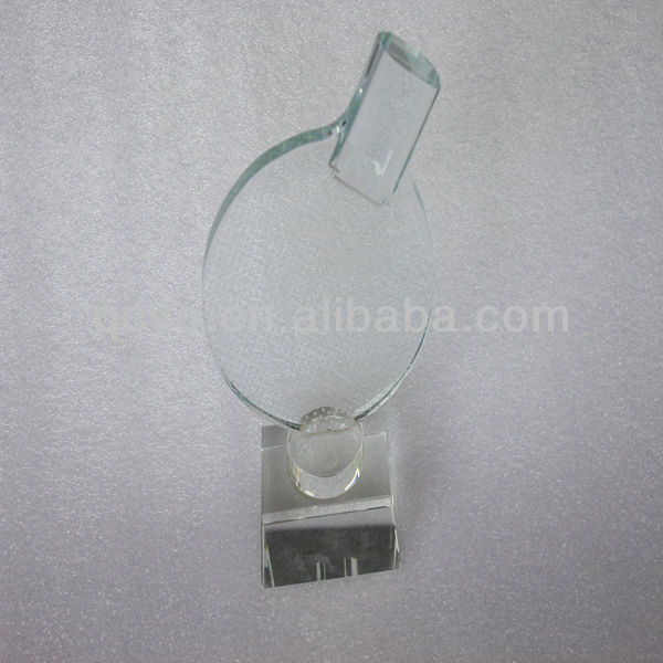 Customized acrylic imitation crystal medals and trophies