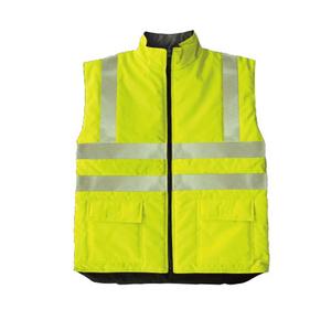 reversible working safety vest uniform