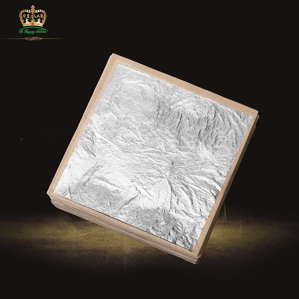 Diy Pure Silver Leaf Decorative Foil Paper Home Furniture Wall Handcraft