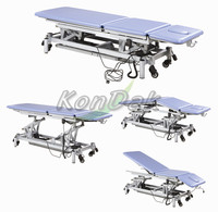Medical electric physiotherapy bed for massage