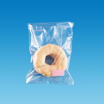 Bopp Cpp Self Adhesive Sealed Plastic Food Bag For Cookie Bread Packaging
