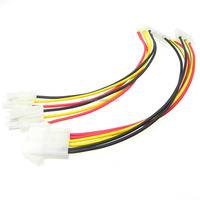 UL2547 3C x 26awg Electrical Wire Harness For Cooling Fans JST PA Connector Cable Assembly