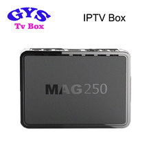 4k uH-D iptv receiver mag 254 linux system set top box mag254 better than mag250