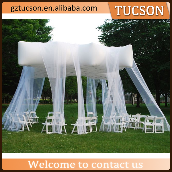 new product 2016 white inflatable wedding tent /growing tent/ marquee