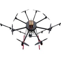 multi rotor unmanned uav 8 axis agricultural Drone with HD cameras remote control helicopter