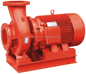 3.7 XBD/25G-NGW electrical CCCF horizental fire-fighting fire water pump