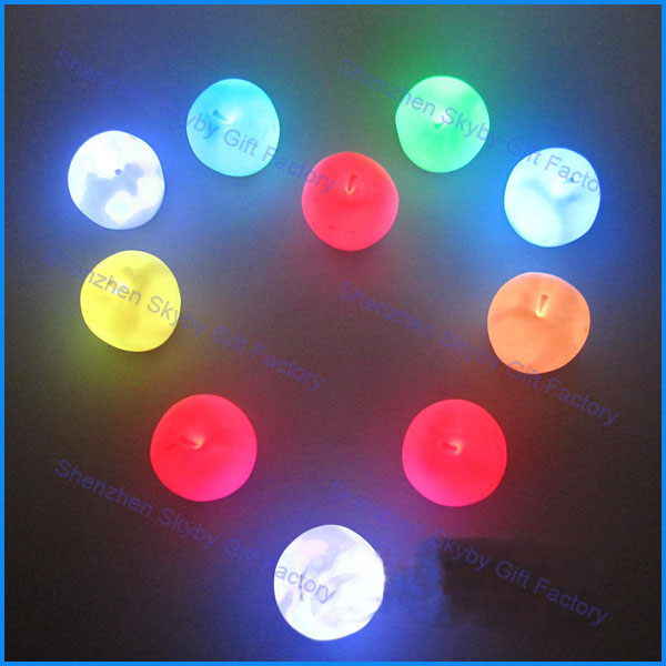 Night Light LED Colorful Christmas Apple Ornaments