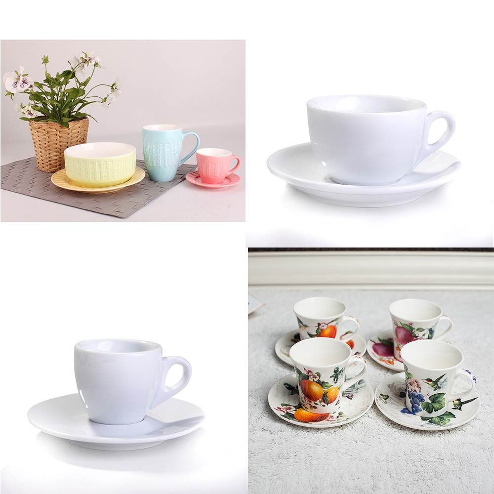 Wholesale high quality zakka Japanese style porcelain coffee breakfast Milk Cup