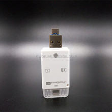 100% design Personalizzato usb flash drive 128 gb otg usb flash drive per apple iphone