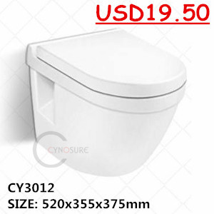 Ed Economic Wall Hung Toilets Stock Clearance Low Price Sanitary Toilet Wc