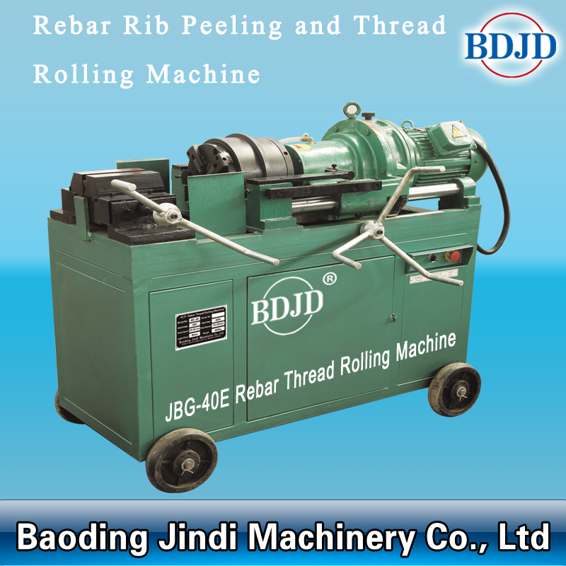 Hot sale 4KW 380V rebar processing machinery thread rolling machine