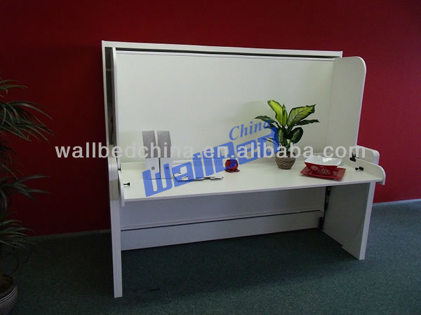 Wall Bed with desk murphy bed desk bed mechanism