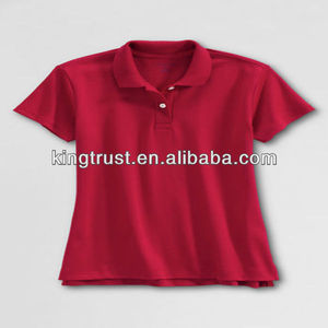 2-12 years soft cotton polo shirt school uniform boy cloth
