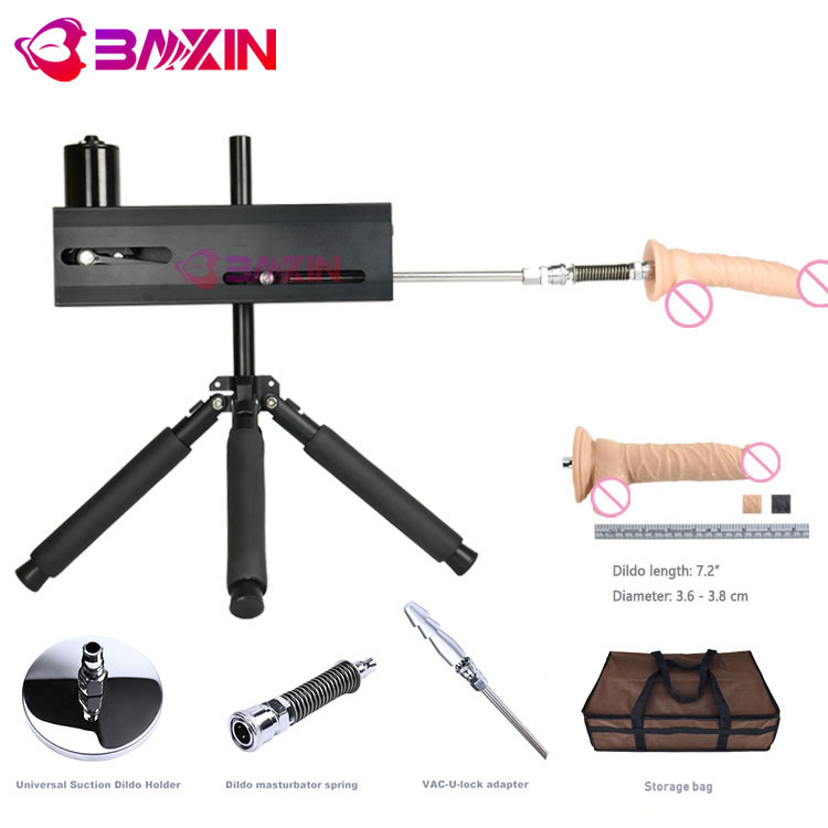 BXSA18 2019 brand new Premium electric automatic Sex Machine gun Promotion Suit for female and woman sexmachines