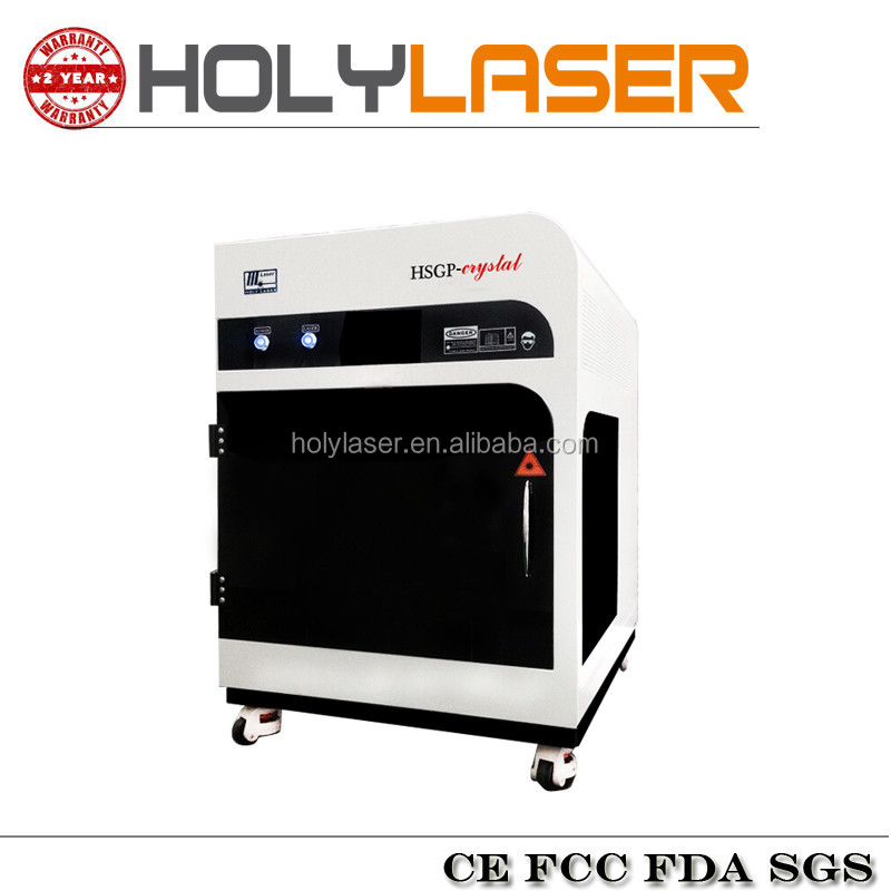 3D laser crystal engraving machine for customized crystal glass gifts engrave Professional Factory HSGP-3KC