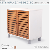 2017 cheap sale modern warehoused wooden bamboo tool cabinet