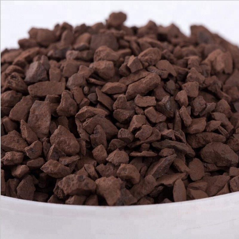 MnO2 25% Cheap Manganese Sand to remove iron from groundwater