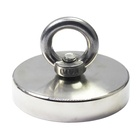1000 LBS Pulling Force Powerful Round Neodymium Magnet with Countersunk Hole and Eyebolt