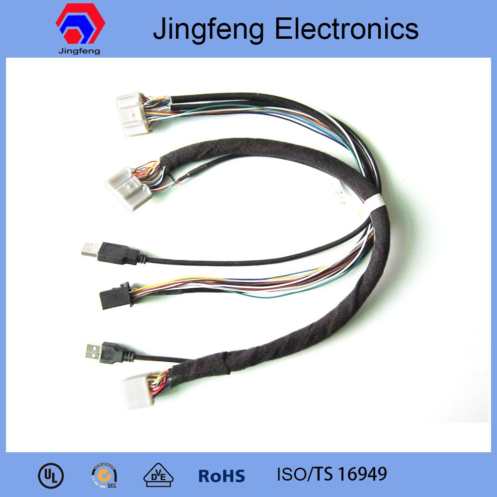 Cost-effective Automotive Connectors Oem Wire Harness For Car - Buy  Automotive Connectors,Wiring Harness For Forklift,6 Pin Connector Wire  Harness Product ...