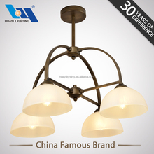 Huayi Modern High Ceilings Large Crystal Glass Parts Pendants For Chandelier