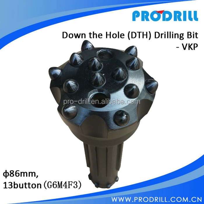 New design high air pressure Down The Hole (DTH) Bit VKP - DIA.86MM