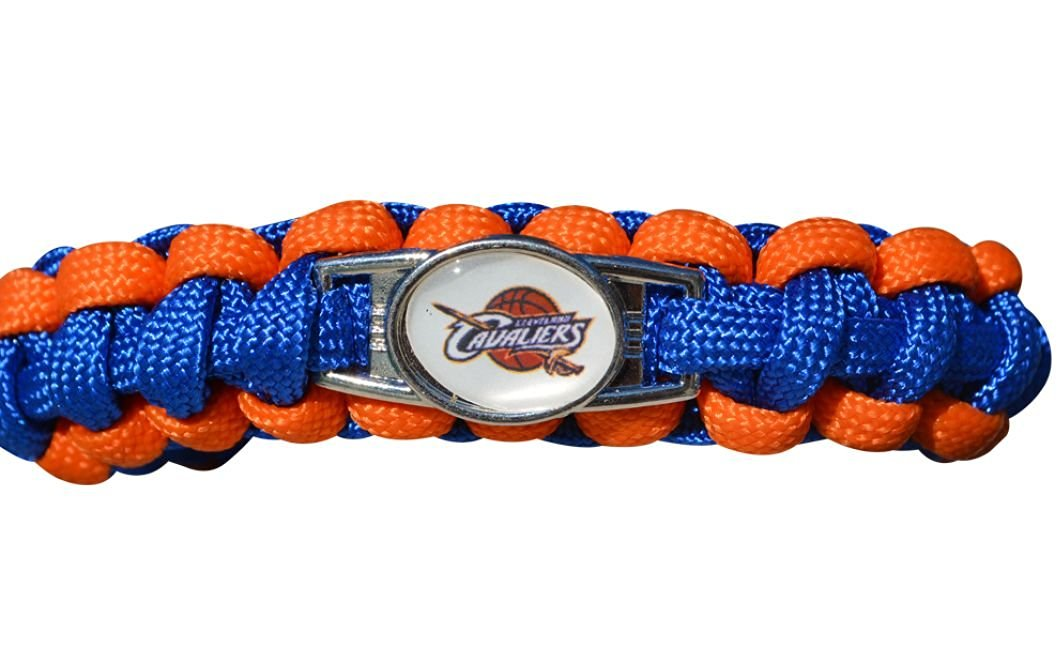 Cleveland Cavaliers Paracord Bracelet, Adjustable Unisex Bracelet, Cleveland Cavaliers Jewelry, Basketball Bracelet, NBA Bracelet & Perfect Basketball Fan Gift
