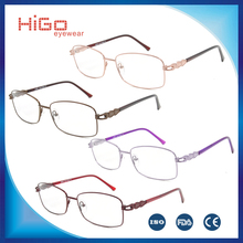 cheap stock eyewear photo frame steel glasses china wholesale market optical frame