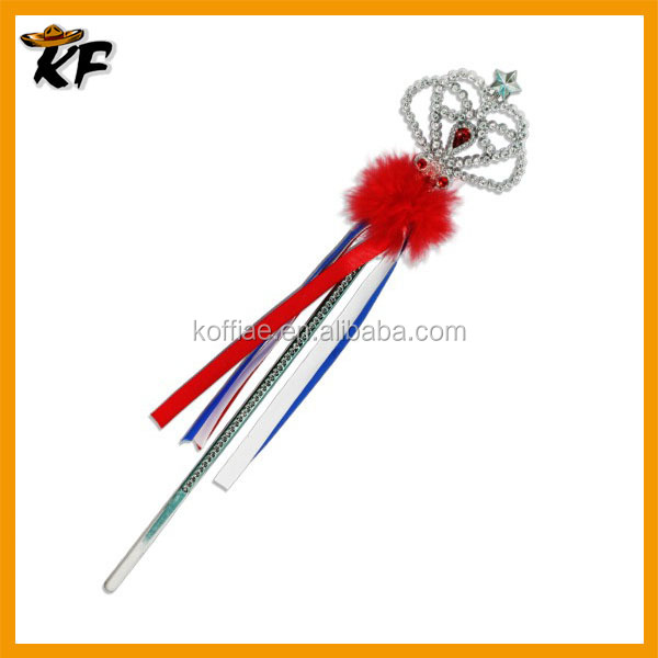 factory wholesale cheap plastic plated fairy wand