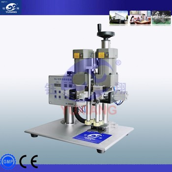 Hot sale capping machine for shampoo round bottles