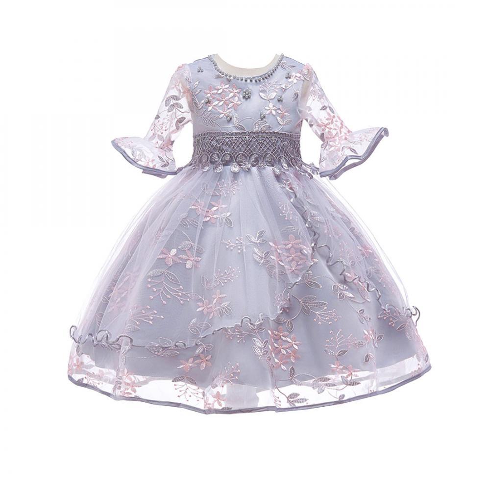 เด็กกลุ่มราคาถูก one - piece ชุดเจ้าหญิงงานแต่งงานสาวเสื้อผ้าเด็กสาวชุด 214719