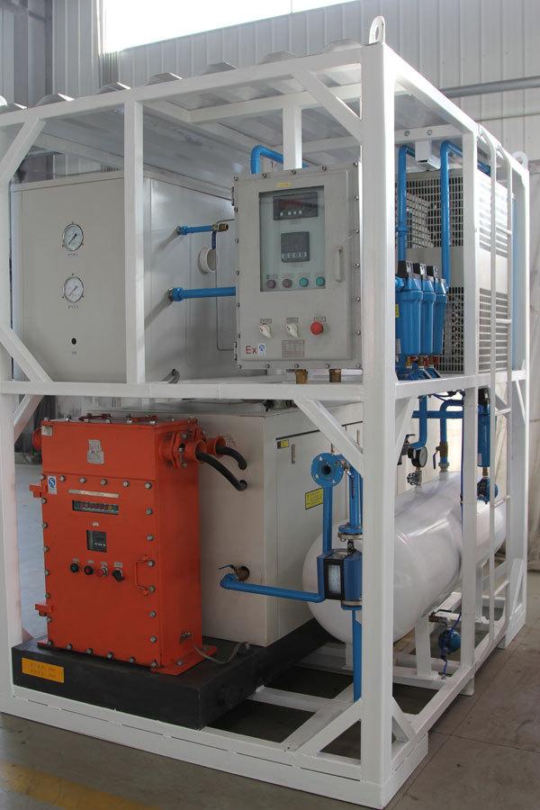 99.9% Nitrogen generator membrane nitrogen generator for sale for fire extinguisher & beverage and food preservation