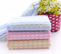 Super soft cotton small squares absorbent gift towels