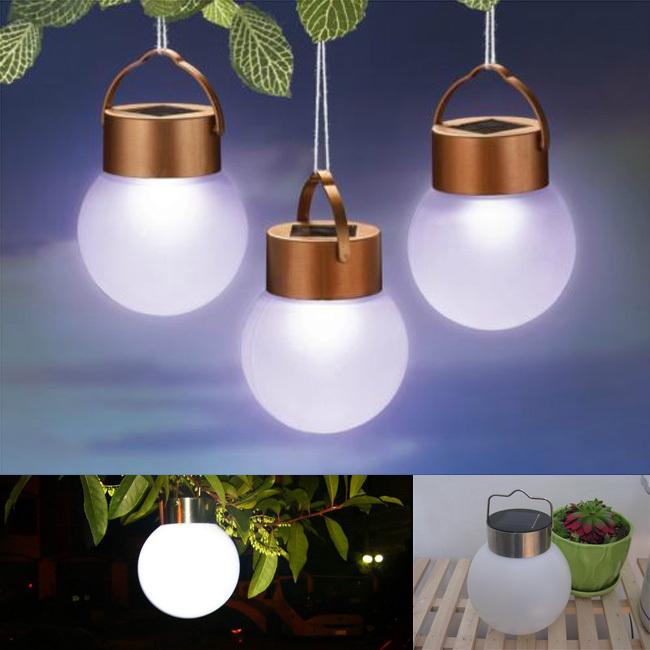 2015 boule solaire lampe solaire ext rieur tanche led lampe de camping portable pour jardin. Black Bedroom Furniture Sets. Home Design Ideas