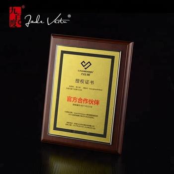 custom high quality sample wood plaque crystal plaque buy wood