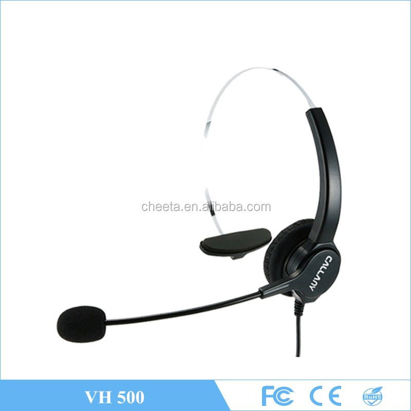 Factory wholesale call centre volume control usb headset