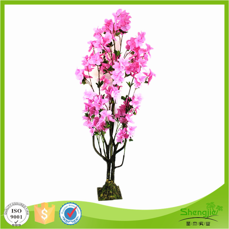 Nearly natural silk artificial flowers plant tree for weddings decoration