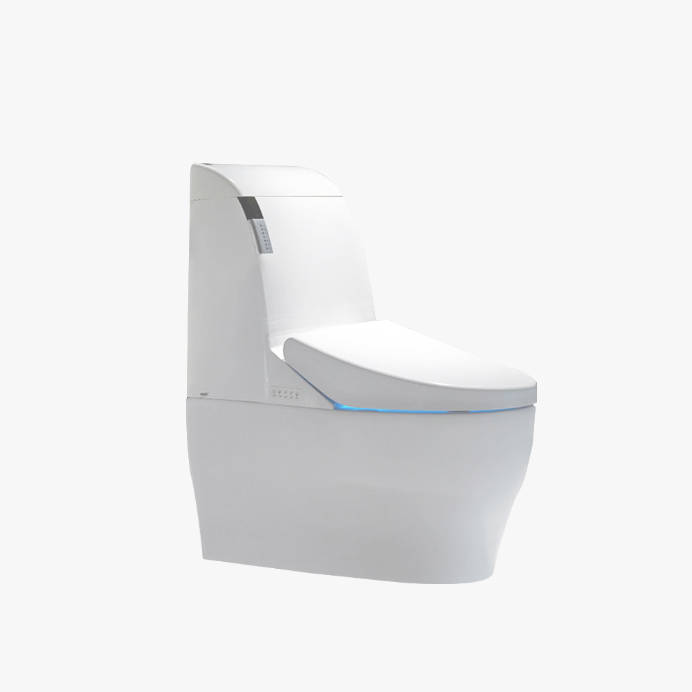 Gizo JJ-0801z Hot Sale Sanitary Ware Bathroom Ceramic Siphonic One Piece Toilets