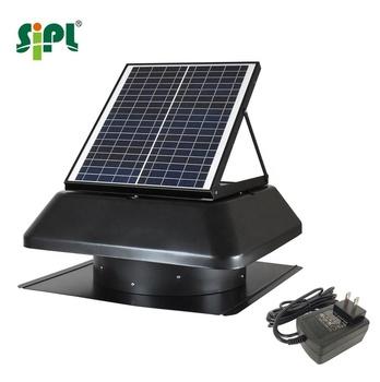 Whisper Quiet 24h Running Solar Attic Gable Ventilation 14