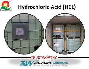 industrial hcl price/hydrochloric acid Manufacturer 32%