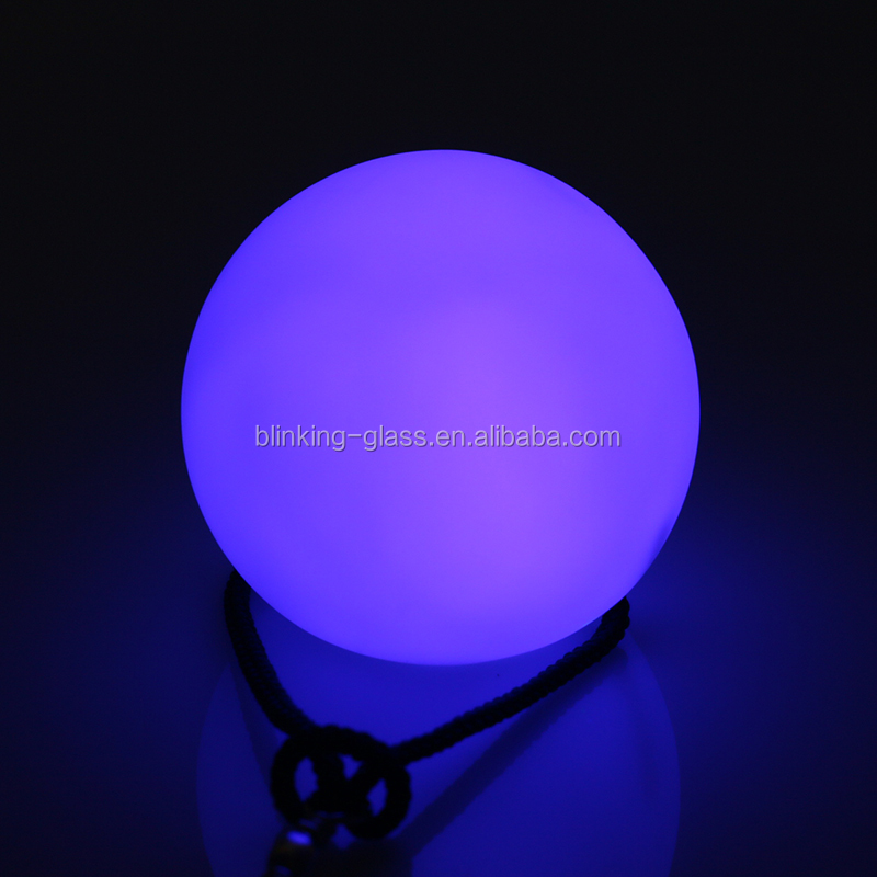 Led glow poi ball