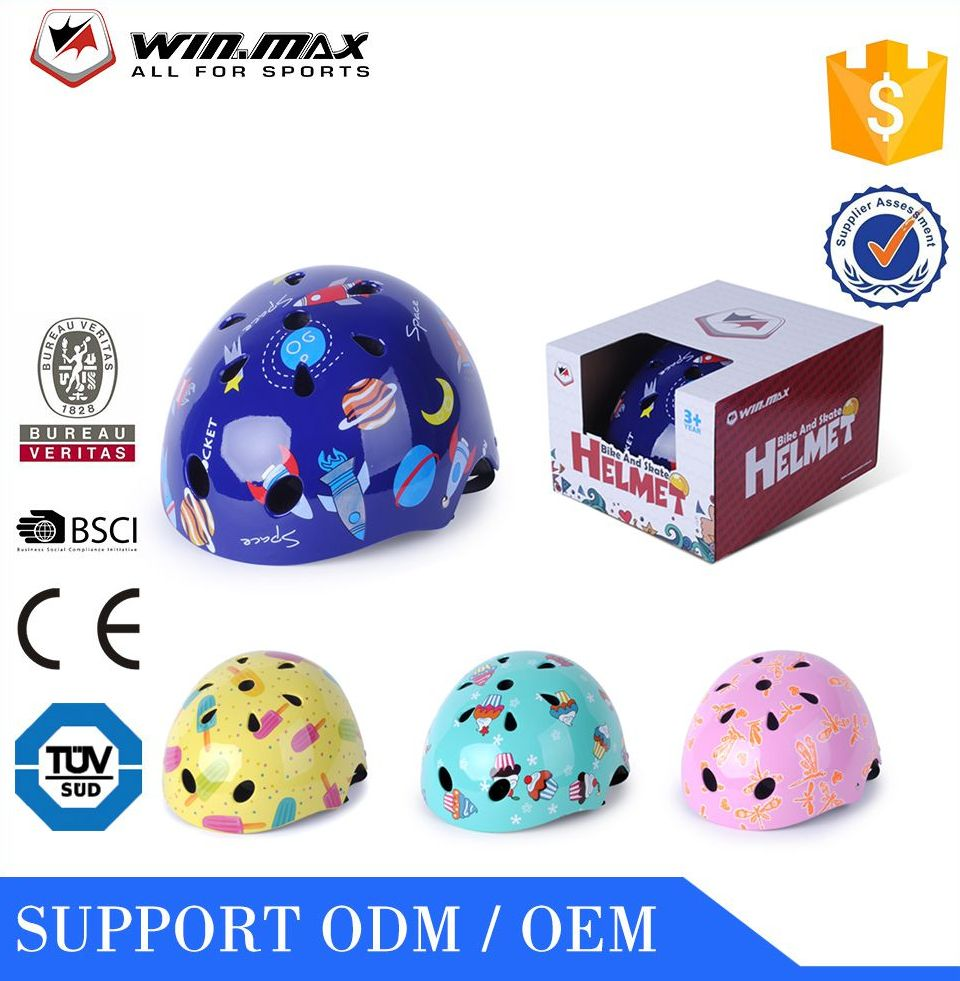2016 WINMAX ABS+EPS custom skate scooter children bicycle helmet manufacturer