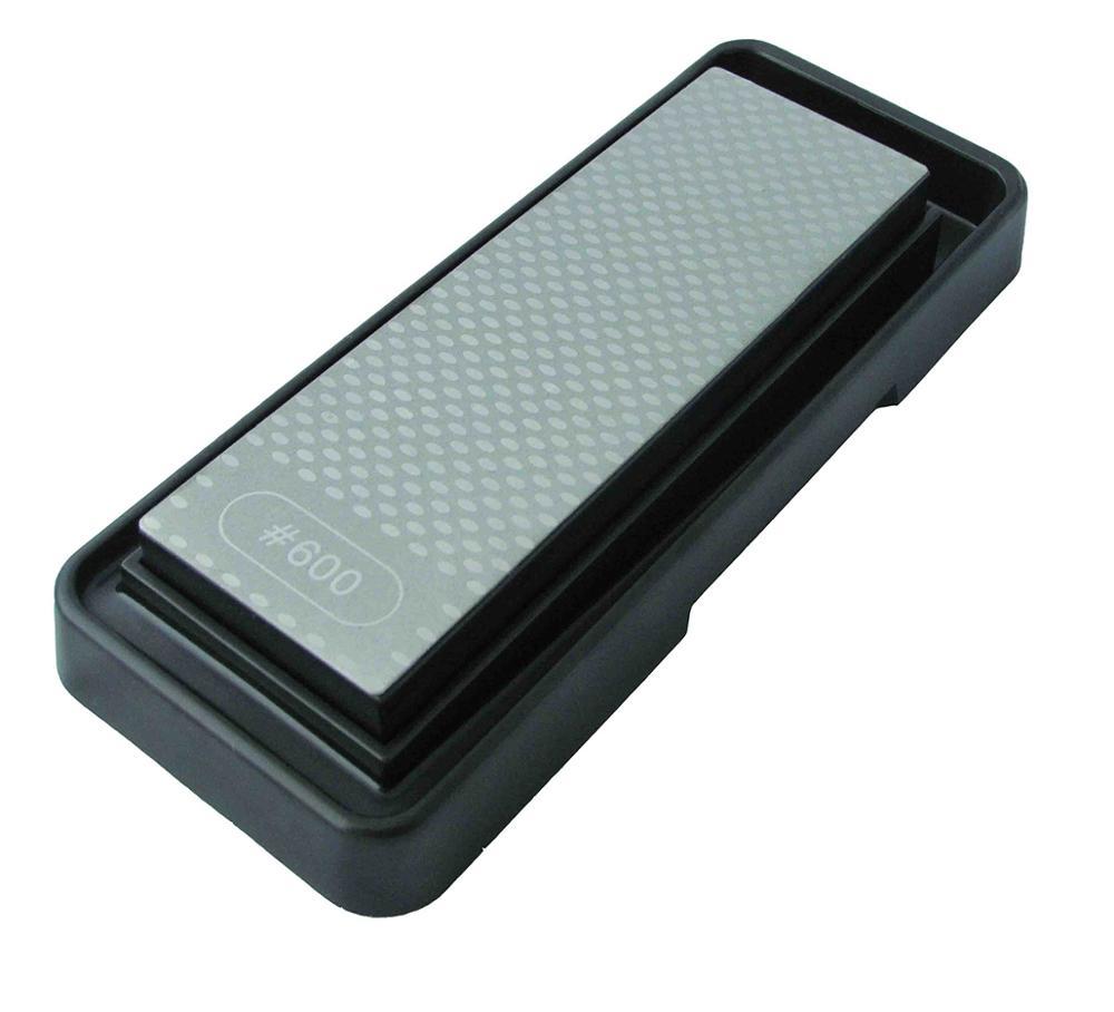 Portable Diamond  Sharpener Stone Whetstone Double Sided Folded Pocket Q
