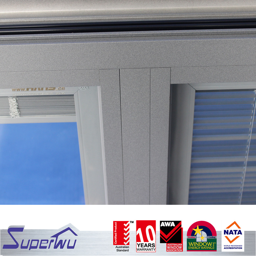 Customized products  White arch aluminum fixed window