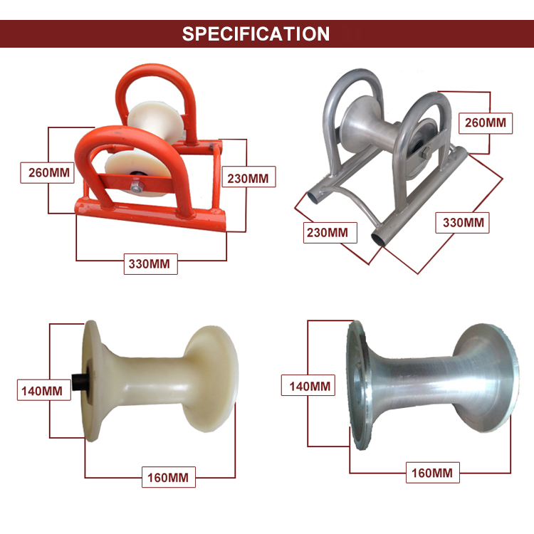Specifications of Cable Roller