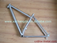 XACD titanium Triathlon bicycle frame customized bike frame with disc brake