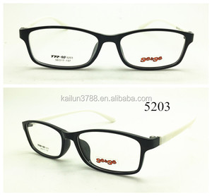Lastest High-End Fashionable TR90 Optical Frame with diopter or without diopter 2016