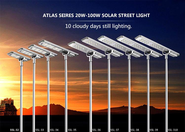 Хорошее качество Горячая продажа уличный светодиодный уличный 160 Вт Солнечный уличный свет