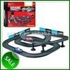 Toy car track plastic